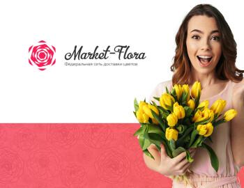 Создание сайта для on-line магазина цветов Market-Flora